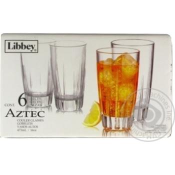 Набор стаканов Aztec 0,473л 6шт