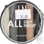 Набір тіней для повік LN Professional All Day All Night 02
