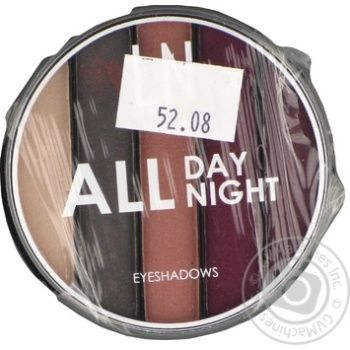 LN Professional Set of eyeshadows All Day All Night 04 - buy, prices for MegaMarket - image 1