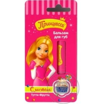 Balsam Princessa Tutti-fruit for lips - buy, prices for Novus - image 1