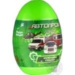 Машинка Автопром металева  у пластиковому яйці в асортименті