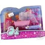 Кукольный набор Simba Toys Ева с малышом в кроватке