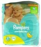 Пiдгузники Pampers New Baby-Dry 2 Mini 3-6кг 94шт