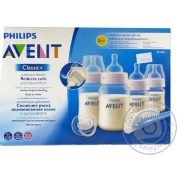 Набір для годув. AVENT Classic+260 мл *2 125 мл *2 SCD371/00 - купити, ціни на МегаМаркет - фото 1