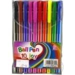 Набір ручок кулькових 10кол
