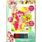 Аппликация My Little Pony Пинки Пай из фольги