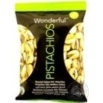 Фісташки Wonderful Pistachios смажені солоні 115г