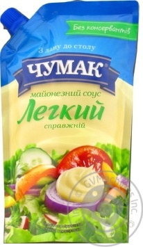 Chumak Spravzhniy mayonnaise sauce 30% 350g - buy, prices for MegaMarket - image 1
