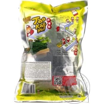 Snack nori Taokaenoi wasabi 15g Thailand - buy, prices for Auchan - photo 2