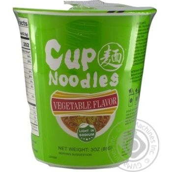 Cup Noodles Vegetables Ramen Soup 85g - buy, prices for MegaMarket - image 1