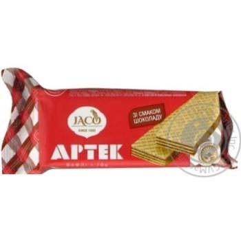 Вафли Жако Артек со вкусом шоколада 70г