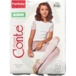 Колготки дитячі Conte Jasmine р.140-146 bianco