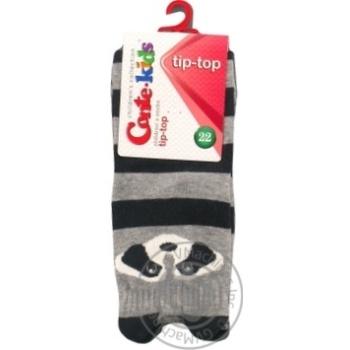 Шкарпетки дитячі Conte kids Tip-Top 17С-59СП, розмір 22, 317 сірий - купить, цены на Novus - фото 1