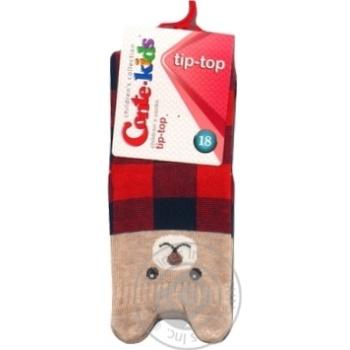 Шкарпетки дитячі Conte kids Tip-Top 17С-59СП, розмір 18, 322 темно-синій-червоний - купить, цены на Novus - фото 1