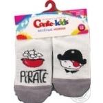 Шкарпетки дитячі Conte Kids веселі ніжки 17С-10СП, розмір 12, 335 світло-сірий - купити, ціни на Novus - фото 3
