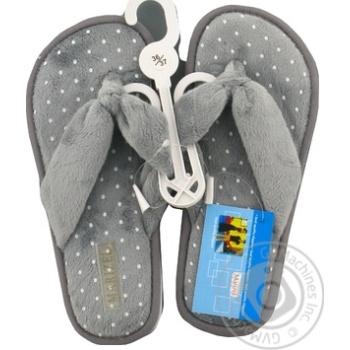 Обувь женская Marizel комнатная Poon-616 - купить, цены на Фуршет - фото 3