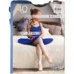 Колготи дитячі синій Ballet Інтуіція 140-147