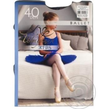Колготи дитячі синій Ballet Інтуіція 128-135