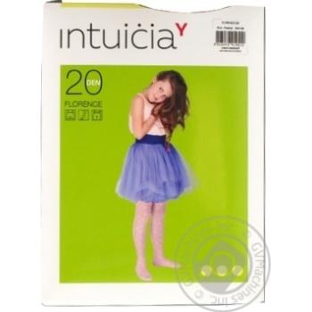 Колготки дитячі FLORENCE 40 140-146 бежевий ТМ Intuicia
