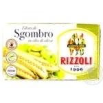 Скумбрия Rizzoli в оливковом масле 125г