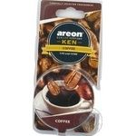 Freshener Areon with coffee for auto 35g