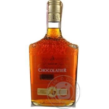 Напій алкогольний Шустов Шоколат'є Шоколад та Ваніль 30% 0,5л