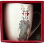 Чашка Keramia Модные звери - Мистер Кроль 360мл