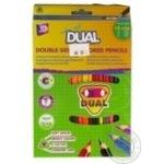 Карандаши цветные Cool for school Extra Soft Dual 18 цветов