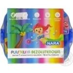 Набор пластилина Nara с пластиковым боксом 7 цветов 380г