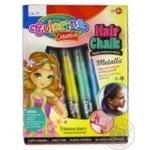 Мел Colorino металлизированная для волос 5 цветов