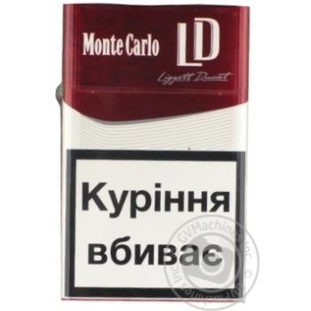 Сигареты Monte Carlo LD Red - купить, цены на Фуршет - фото 1