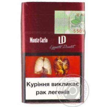 Сигареты Monte Carlo LD Red - купить, цены на Фуршет - фото 2