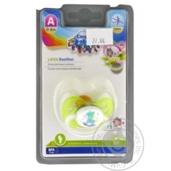 Пустушка Canpol Babies Toys 23/259 0-6міс анатомічна - купити, ціни на МегаМаркет - фото 1