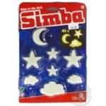 Набор светящихся элементов Simba звезды, облака и месяцы 40шт
