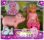 Ляльковий набір Еві Вагітна свинка з поросятами Simba Toys 3+