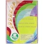 Цветная бумага Green Orange А4 PAS розовая 100 листов