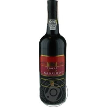 Вино Caseiro Porto Ruby червоне напівсолодке19% 0,75л
