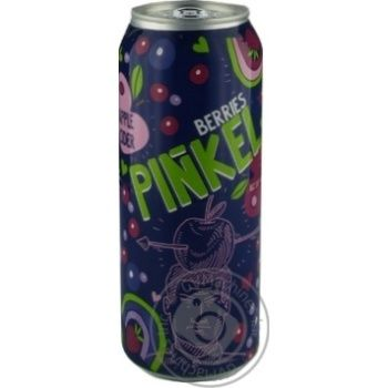 Cider with berries sweet 5% 500ml can