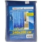 Штора для душу Vanstore 240*200см з кільцями Art.61101 х6