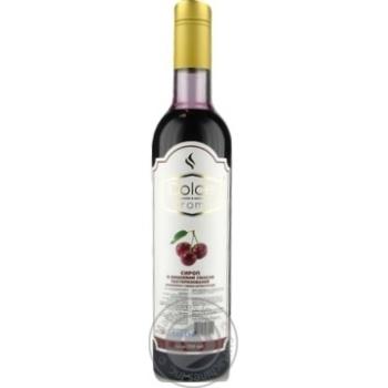 Сироп із вишневим смаком Dolce Aroma 0,7л - купить, цены на Novus - фото 1