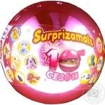 Игрушка-сюрприз мягкая Surprizamals в шаре