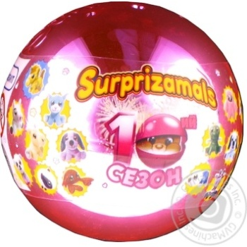 Surprizamals Soft Surprise Toy In Ball - buy, prices for Novus - image 1