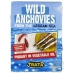 Fish anchovy Piquant in oil 100g
