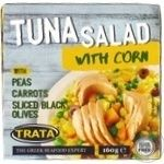Salad tuna with corn canned 160g