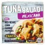 Салат мексиканський з тунцем Trata 160г - купить, цены на Novus - фото 1