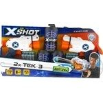 Набір бластерів X-Shot 2 види зброї 3банки 12патрон.36120 Zuru