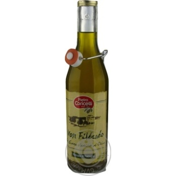 Олія оливкова нефільтрована Extra Virgin Pietro Coricelli 0,5л