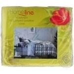 Комплект постільної білизни Home Line півтораспальний сатин