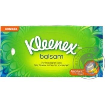 Салфетки Kleenex Balsam в коробке - купить, цены на Ашан - фото 4
