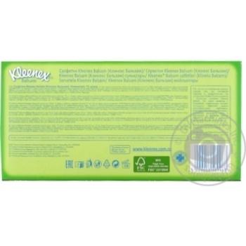 Салфетки Kleenex Balsam в коробке - купить, цены на Ашан - фото 5